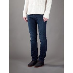 Acne Studios Roc Lana Dark Wash 5 pocket Skinny
